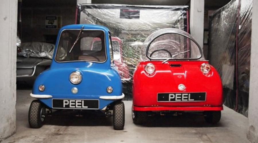 Historie, Novinky: Velký malý návrat: Automobilka Peel