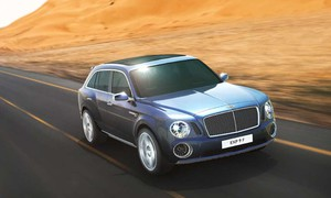 Novinky, WTF?: Bentley EXP 9F - Fotbalistovy manželky sen