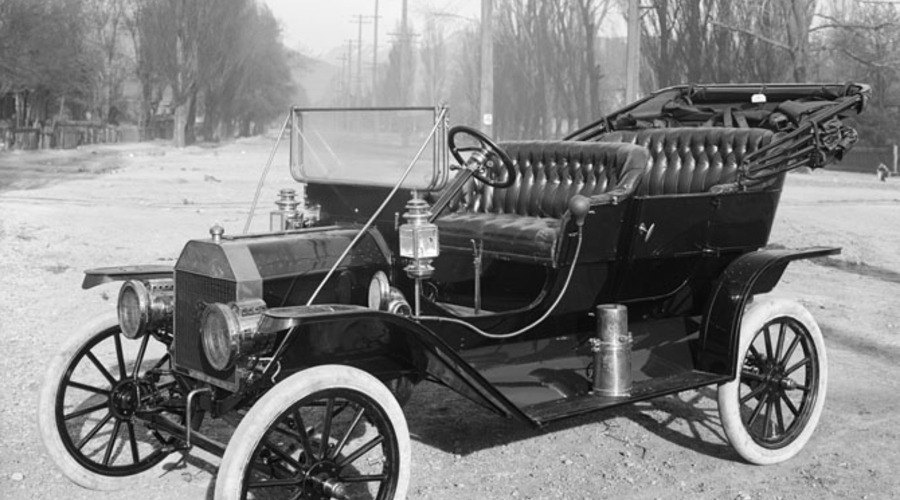 : Naučte se řídit Ford Model T