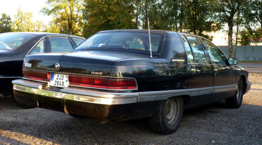 : Buick Roadmaster: Punková loď