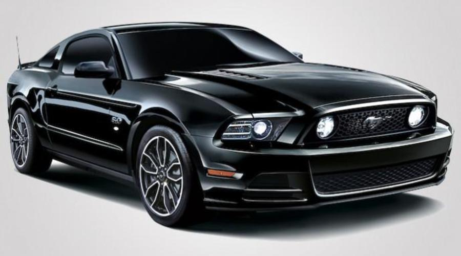 Novinky: Mustang na černo