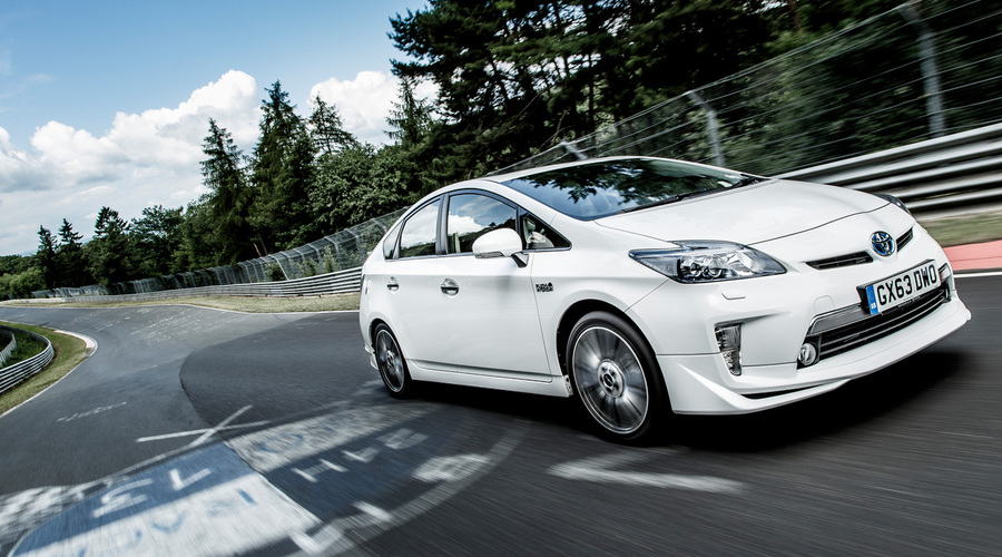 Novinky: Toyota Prius TRD na Nurburgringu!