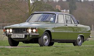 Historie: Rover P6: Britská avantgarda
