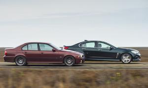 Napsali jinde: BMW M5 (E39) vs. Chevrolet SS: Když dva dělají totéž...