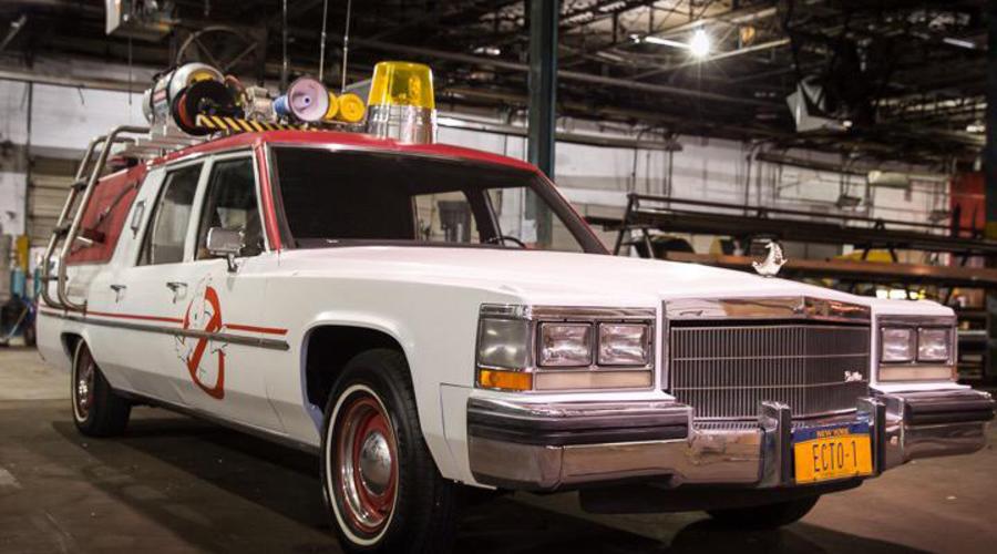 : Krotitelé duchů inovují aneb o starých autech v hollywoodských filmech