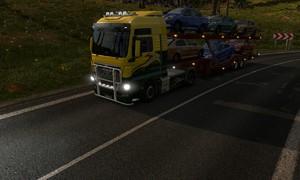 Virtuální volant: Virtuální volant: Euro Truck Simulator 2