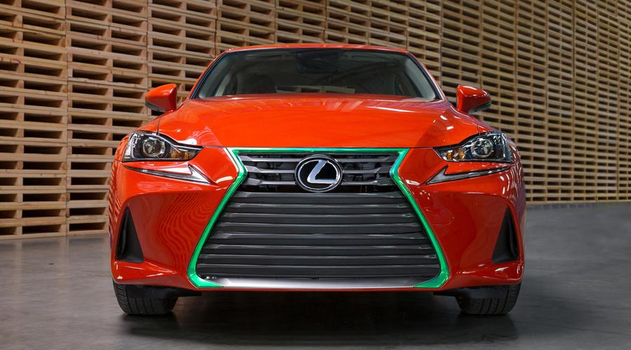Představujeme, WTF?: Lexus představil nejostřejší sedan všech dob