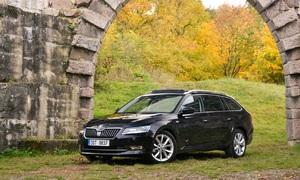 Recenze & testy: Škoda Superb Combi 2.0 TDi - Dexterův stěhovák
