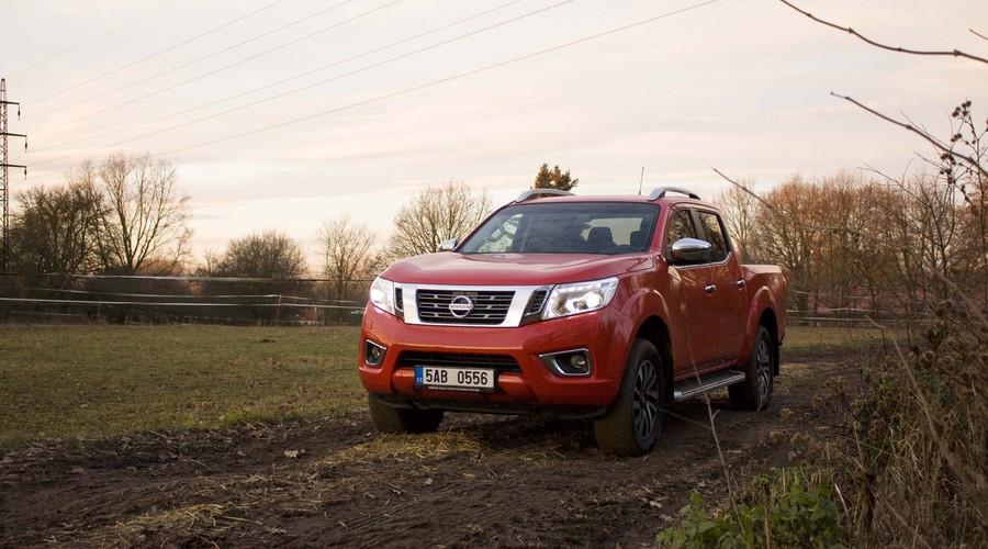 Recenze & testy: Nissan Navara - komfort, bláto a vánoční stromky