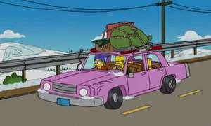 Představujeme: Konečně víme, čím jezdí Homer Simpson