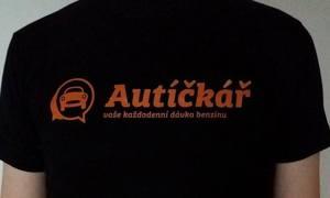Autíčkářovy věci: Podpoř Autíčkáře, kup si tričko a dostaneš kafe!