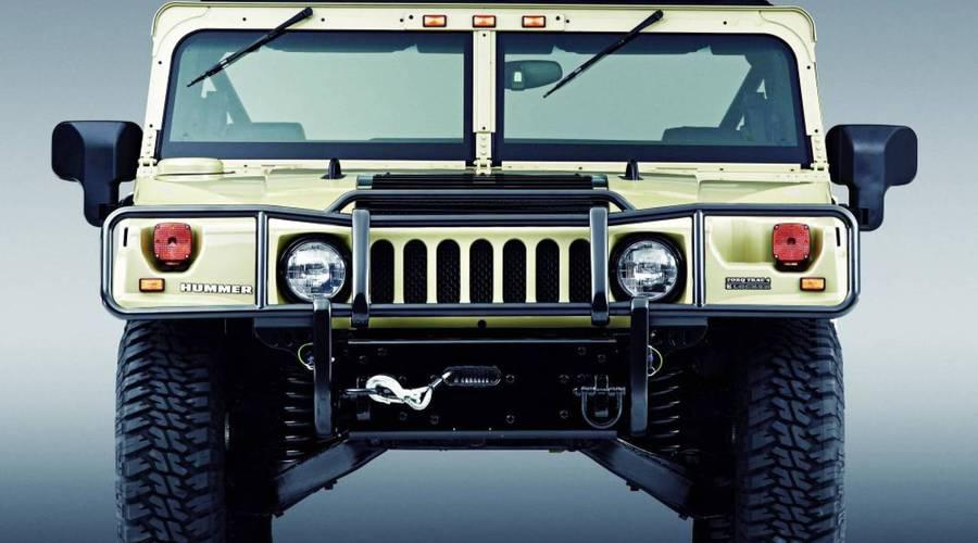 Bazarový snílek: Hummer H1 - Přímočaré řešení