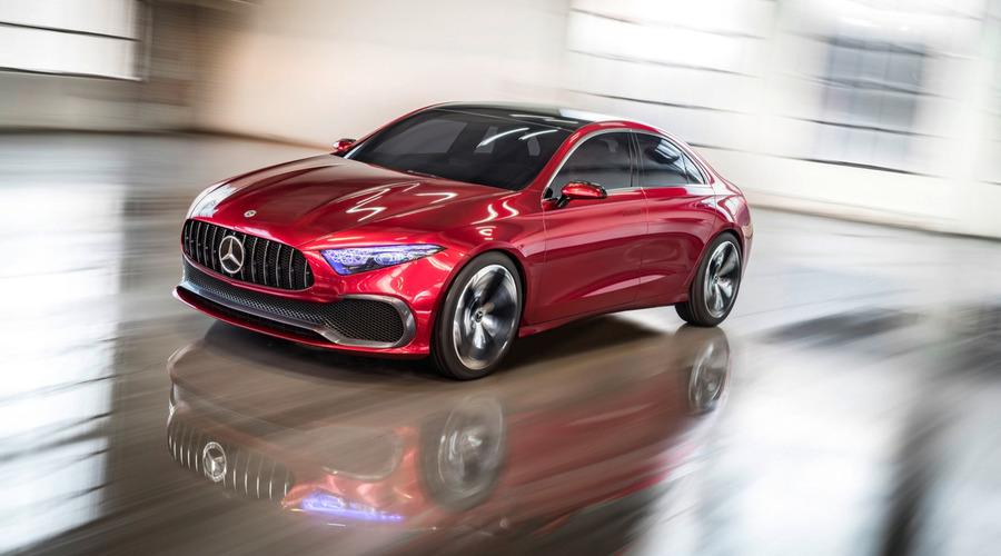 Novinky: Mercedes Concept A Sedan nabízí náhled na budoucí design značky