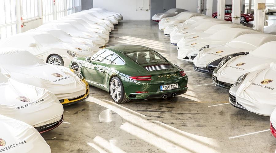 Novinky: Z výrobní linky sjelo milionté Porsche 911