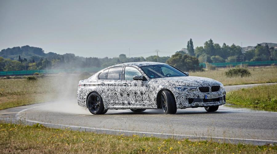 Novinky: BMW M5 jako všehrab…ale taky jako zadohrab…ale taky jako všehrab