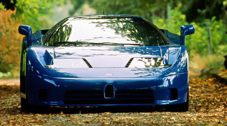 Historie: Bugatti EB110: Příběhy neobyčejného šílenství