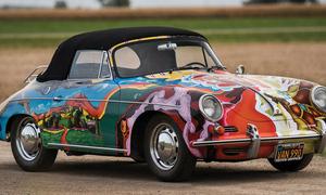 Slavní za volantem: Vzduchem chlazená psychedelie aneb Janis a její Porsche