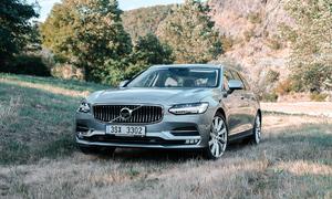 Recenze & testy: Volvo V90 T6: Zenová zahrada