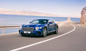 Novinky: Nové Bentley Continental GT - Lehčí, hezčí a s displejem, který umí zmizet