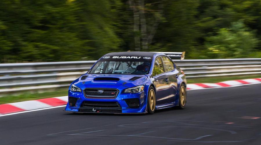 Novinky: Mrkejte, jak se Subaru WRX STI stalo nejrychlejším sedanem Nürburgringu