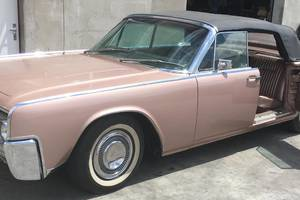 Lincoln Continental kabriolet 1964