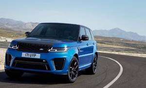Novinky: Range Rover Sport SVR po faceliftu s karbonovou kapotou
