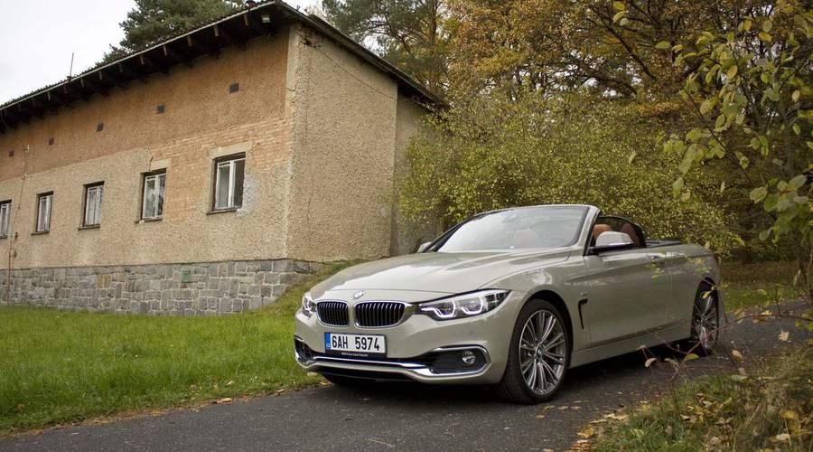 Recenze & testy: BMW 435d xDrive Cabrio: Nebe nad hlavou, diesel pod kapotou