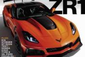 Ukrývaná Corvette ZR1 se odhaluje na obálce magazínu Car and Driver