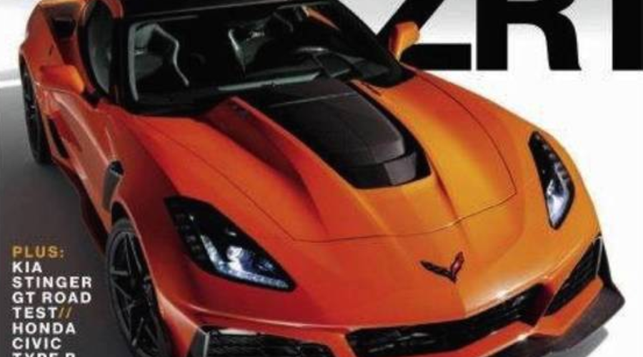 Novinky: Ukrývaná Corvette ZR1 se odhaluje na obálce magazínu Car and Driver