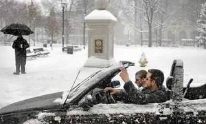 Bazarový snílek: Bazarový Snílek: S větrem v kulichu aneb kabriolet v zimě za pár šupů