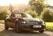 Mazda MX-5 RF 2.0: Analogové auto v digitálním světě