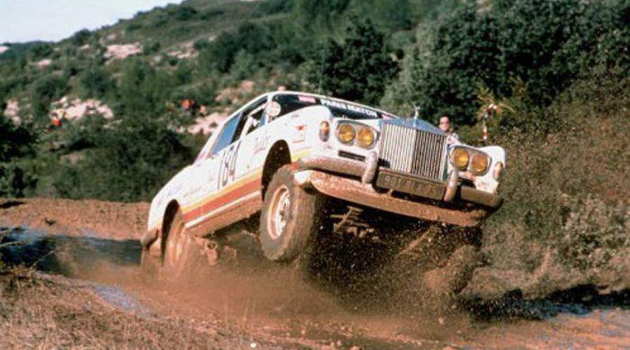 Historie, Mýty a legendy: Sázka, která přivedla Rolls-Royce až na Rally Paříž - Dakar