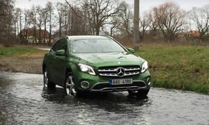 Recenze & testy: Mercedes-Benz GLA 220d 4MATIC: Vstupní brána do lepší společnosti
