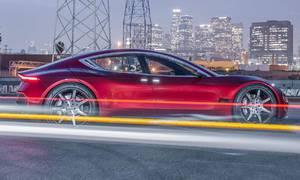 #autickarfuturista, Novinky: Henrik Fisker ukázal na veletrhu CES nový elektromobil EMotion