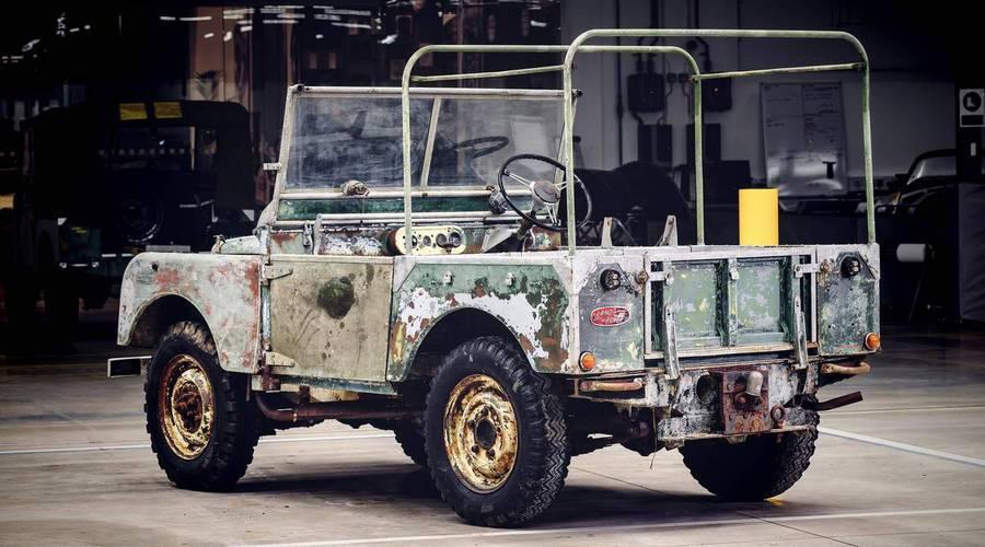 Novinky: Land Rover objevil ztracený předprodukční kus Series I a chystá renovaci