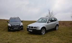 Recenze & testy: Ford Kuga TDCi versus BMW X3 2.5i: Kočičí hra s SUVčky