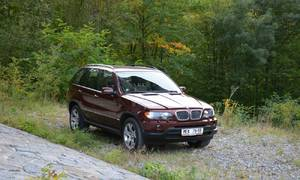 Historie, Recenze & testy: BMW X5 4.4i: Sen manželky vlivného kmotra