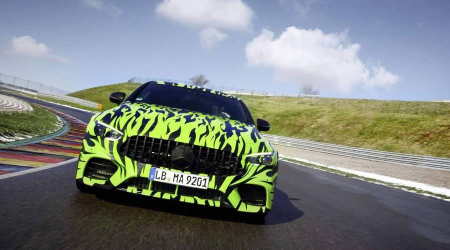 Novinky: Mercedes ukazuje sedan od AMG, maskovaný po vzoru Need for Speed