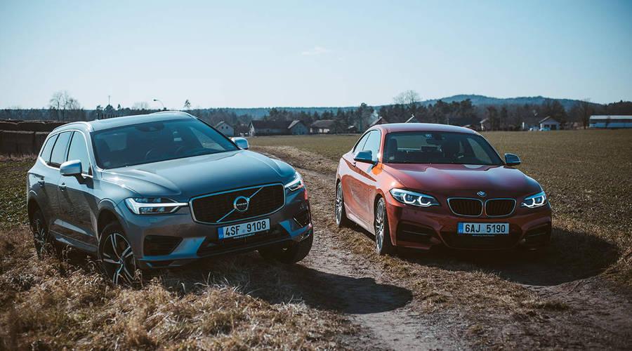 Video: Drag race | Volvo XC60 T8 vs. BMW M240i: Zapomeňte na čísla!