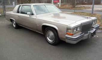 Cadillac Coupe deVille d'Elegance Coupe 2-Door 4.1L 1984