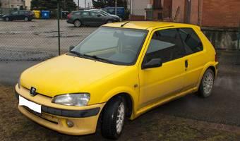 Peugeot 106 1,6 Rallye 1998