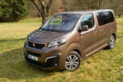 Peugeot Traveller 2.0 HDi 4x4 Dangel: Rallye dodávka