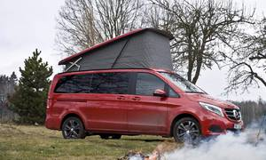 Recenze & testy: Mercedes-Benz V Marco Polo Horizon: Jezdit, spát, milovat