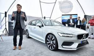 Představujeme: Volvo V60: Kombík je zpět!