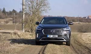 Recenze & testy: Hyundai Grand Santa Fe 2.2 CRDi: Korejská 'amerika' na českých silnicích
