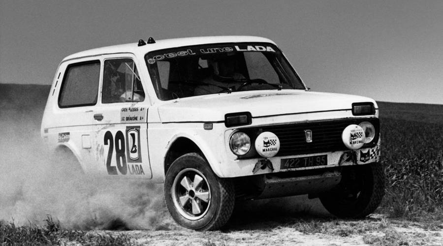 Historie: Jak Lada Niva nevyhrála Dakar