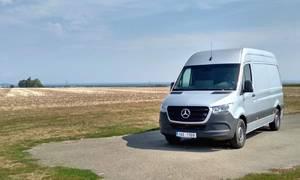 Recenze & testy: Mercedes-Benz Sprinter 314 CDI: Zasloužená hvězda