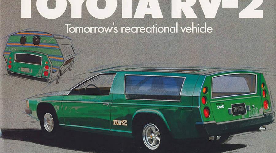 Historie, WTF?: Toyota RV-2: Nejrychlejší obytňák