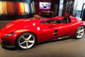Nové Ferrari Monza nafoceno ještě před oficiální premiérou