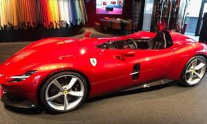 Novinky: Nové Ferrari Monza nafoceno ještě před oficiální premiérou